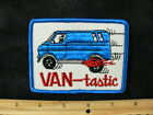 Embroidered patch VANTASTIC vintage 70's van vanning Chevy Dodge Ford hippie VW