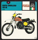 1978 FANTIC CABALLERO 125 RC Enduro Motorcycle CARD