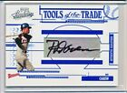 ROD CAREW 2005 PLAYOFF ABSOLUTE TOOLS OF THE TRADE AUTOGRAPH AUTO #'D 101 150