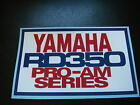 YAMAHA RD 250 LC RD 350 LC YPVS PRO-AM SERIES nose fairing racing sticker decal