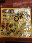125 + Lot of Antique Buttons Very Nice Selection ~ Really Good Lot! Old Buttons