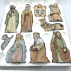 Vintage Homco Home Interiors 5599 Nativity Christmas Complete 9 Pieces