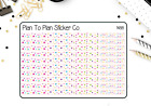 1488 Birthday Dividers Borders Planner Stickers