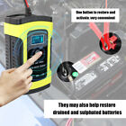 Full Automatic Smart 12v 6a Lead Acidgel Battery Charger Car Motorcycle F7w5