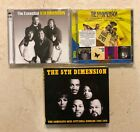 Lot of 3 The 5th Dimension CDs Up UP And Away/Magic Garden/Stone Soul Picnic