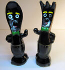 Anthropomorphic Vintage FORK  SPOON Couple Salt  Pepper Shakers