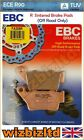 EBC Rear Sintered R-Series HD Brake Pads CCM 604 RS Roadster 2000-03 FA208R