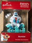 2018 Hallmark Rudolph the Red Nosed Reindeer Bumble Abominable Snowman Ornament