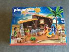 PLAYMOBIL 5588 Christmas Nativity Manger with Stable New sealed in Box