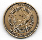 NASA STS 41D THE MAIDEN VOYAGE OF DISCOVERY AUGUST 30 1984 ANTIQUE BRONZE COIN