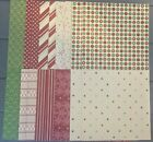 Stampin Up BE OF GOOD CHEER Designer Series Paper DSP 6x6 20 sheets Christmas