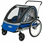 New InStep Rocket 11 Bicycle Trailer, Blue/Grey FREE SHIPPING!