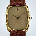 Audemars Piguet, B37636, Mens, Vintage 18K Yellow Gold, Leather Band, Manual