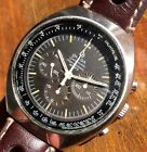 vintage Omega Speedmaster Mark 2 Chocolate Tropical Dial from 1969 Cal 861