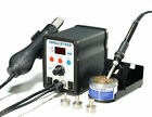 Yihua 8786d 2 In 1 Soldering Solder Station Smd Rework Iron With Hot Air Gun New