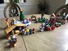 Fisher Price Little People Christmas Village Nativity  Tree Lot 21 People