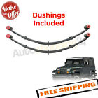 Pro Comp 51413 Front 4 Lifted Leaf Springs 1987 1995 Jeep Wrangler YJ PAIR
