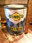 Vintage SUNOCO PRESTIGE Lubricant Grease Oil Can Kendall Sign SUN Philadelphia