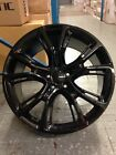 4 JEEP SRT8 20 Gloss Black Black Wheels OE 20x10 Grand Cherokee