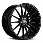 19 SAVINI BM16 BLACK CONCAVE WHEELS RIMS FITS BMW F10 528i 535i 550