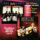Doc Watson - Doc and The Boys and Live and Pickin [New CD]