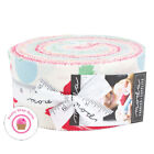 Moda CHEEKY Urban Chicks JELLY ROLL 40 strips Quilt Fabric 30s Reproduction