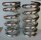 Lowrider Hydraulics 45 ton coil springs full stack one flat edge chrome2pcs