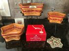 Longaberger Star baskets and wrought iron stands - excellent condition