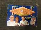 1981 Hall Of Fame Donruss Baseball cards rare full box