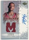 LEBRON JAMES 2003 04 UD GLASS ROOKIE MONUMENTAL MARKS AUTOGRAPH JERSEY AUTO SP