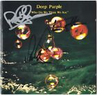 DEEP PURPLE Who Do We Think Are - IAN GILLAN Roger Glover Paice Autograph SIGNED