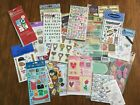 Lot of HUNDREDS of NEW  SEALED Scrapbooking Stickers Stickabilities Letters