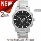 Burberry The City Men's Watch BU9351¦Chronograph Black Dial Stainless Steel