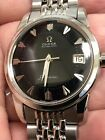 RARE!! VINTAGE OMEGA SEAMASTER BLACK DIAL DATE CAL. 503 AUTOMATIC MAN'S WATCH