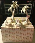 Precious Moments Palm Trees Hay Bail Baby Food Nativity Accessorie w Box 272582