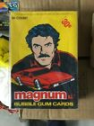 Magnum PI TV show cards rare full box 1981