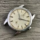 Rare Vintage Stainless Steel Omega Seamaster Automatic w/Linen Dial Running 2848