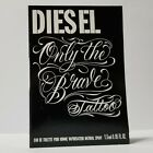 ONLY THE BRAVE TATTOO BY DIESEL  EDT MEN'S COLOGNE *SPRAY SAMPLE*
