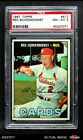 1967 Topps #512 Red Schoendienst Cardinals PSA 8 - NM MT