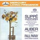 SUPP': OVERTURES; AUBER: THE BRONZE HORSE NEW CD