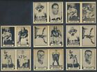 1962 Topps CFL Lot of 31 44 Non-Consecutive Intact Panels Vintage CFL Football