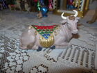 Hawthorne Village Jeweled Heavens Radiant Glory Nativity Seated Bull 2008