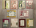 10 Handmade Kids Teens Birthday greeting cards  envelopes Stampin Up + more