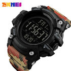 Luxury SKMEI Quartz Stopwatch Men Waterproof LED Digital Date Sport Wrist Watch