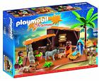 PLAYMOBIL 5588 Nativity Stable with Manger Play Set New Sealed HTF