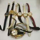 Lot 8 Watches Timex Cardinal Wyler Vantage Gitano For Parts Only