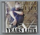 RARE 2003 Cut Throat Committy Soulja Slim YEARS LATER New & Used CD LOT! SEALED!