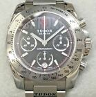 Tudor Chronograph Mens Stainless Steel Watch