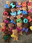 Ty Jingle Beanies Alphabet Bears In Mint Condition With Tags Lot Of 23
