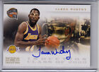 2010-11 PLAYOFF NATIONAL TREASURES JAMES WORTHY INDUCTION CLASS AUTOGRAPH AUTO